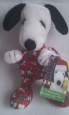 Adorable Rare Special Edition Bedtime 'Christmas Snoopy' Plush Toy + Tag